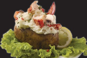 Lobster Stuffed Potatoes