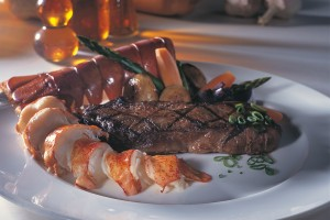 Steak and Lobster Tails