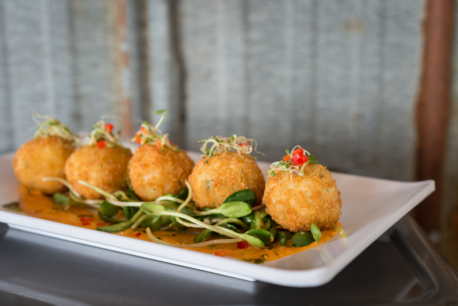 Snow Crab Arancini, SouWest (2017)