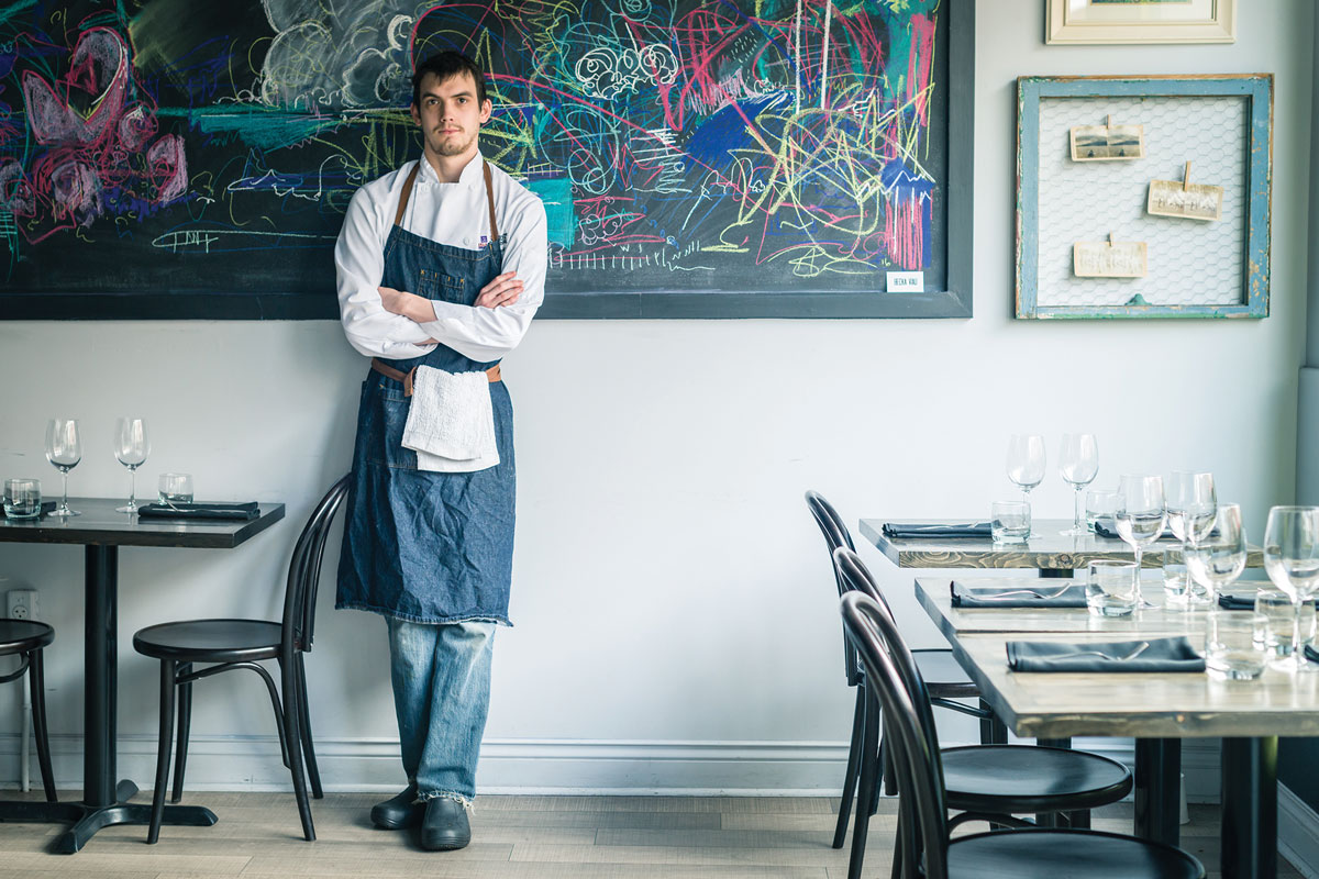Chef Craig Doucette, Terre Rouge Craft Kitchen - Best of Sea