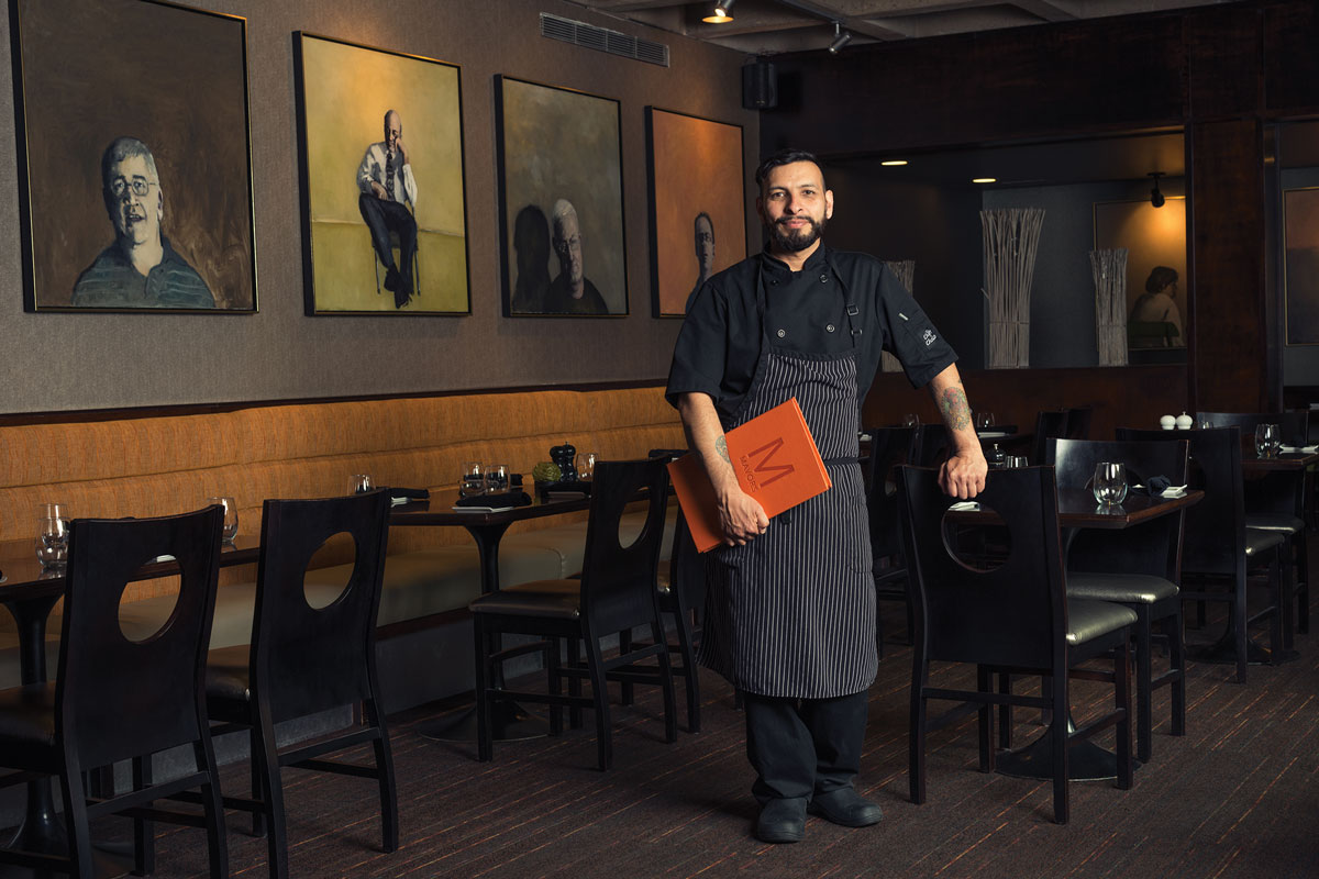 Chef Miguel Cervantes, Mavors Restaurant and Lounge