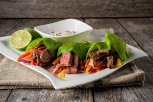 PEI Beef Lettuce Wraps