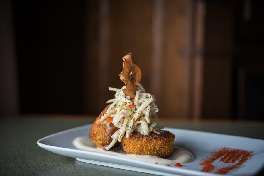 PEI Crab and Potato Cakes - Mill River Experience