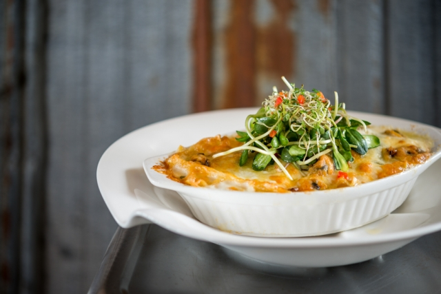 Sou'West Mussel and Oyster Lasagna - Sou'West Bar and Grill
