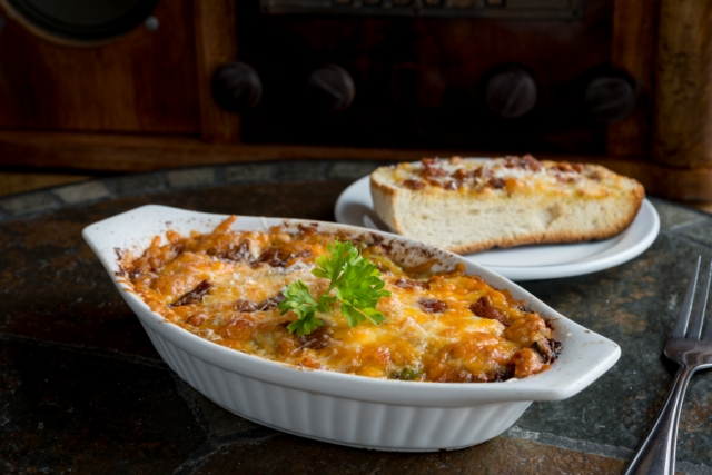 Seafood Bubbly Bake - Stella's Dining