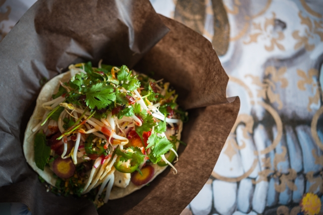 Vietnamese Fish Tacos - Sugar Skull Cantina