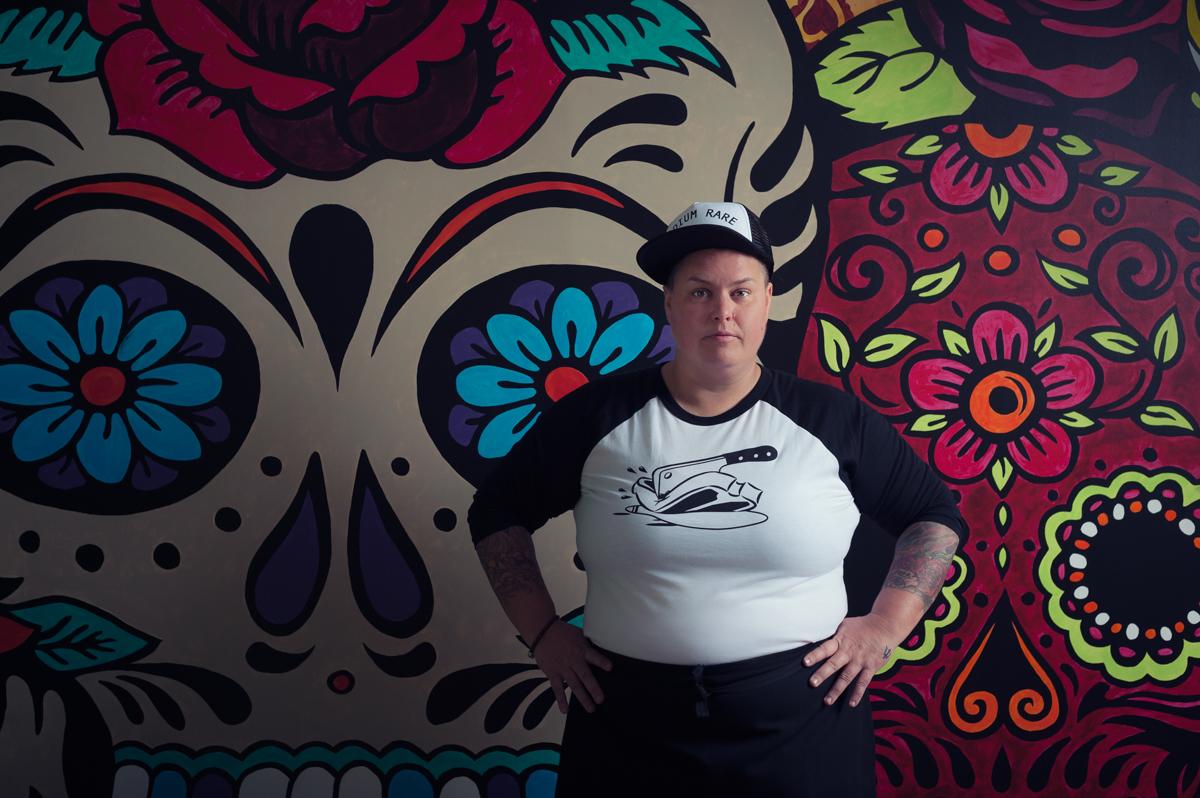 Sugar Skull Cantina, Chef Jane Crawford
