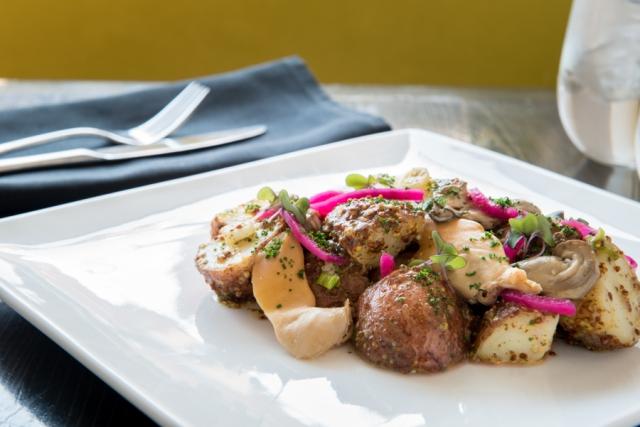 Warm Potato Salad - Terre Rouge Craft Kitchen