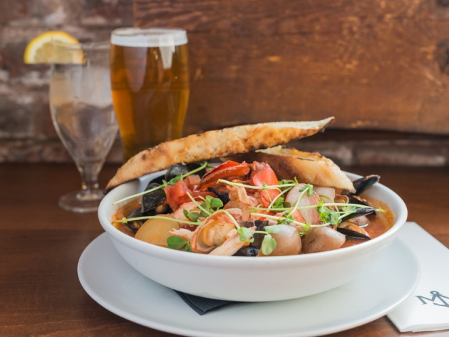 Island Seafood Stew – Merchantman Fresh Seafood & Oyster Bar, Chef Andrew Cotton