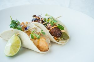 Lobster and Crab Tacos, Dundee Arms