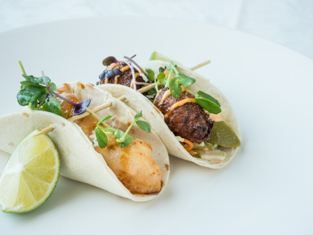 Lobster and Crab Tacos – The Dundee Arms, Chef Patrick Young
