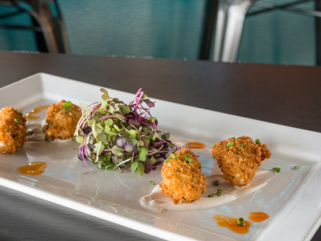 Crispy Fried PEI Oysters with Cilantro Lime Aioli – Peake's Quay