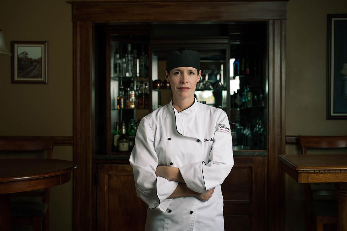 Chef Glenda Burt