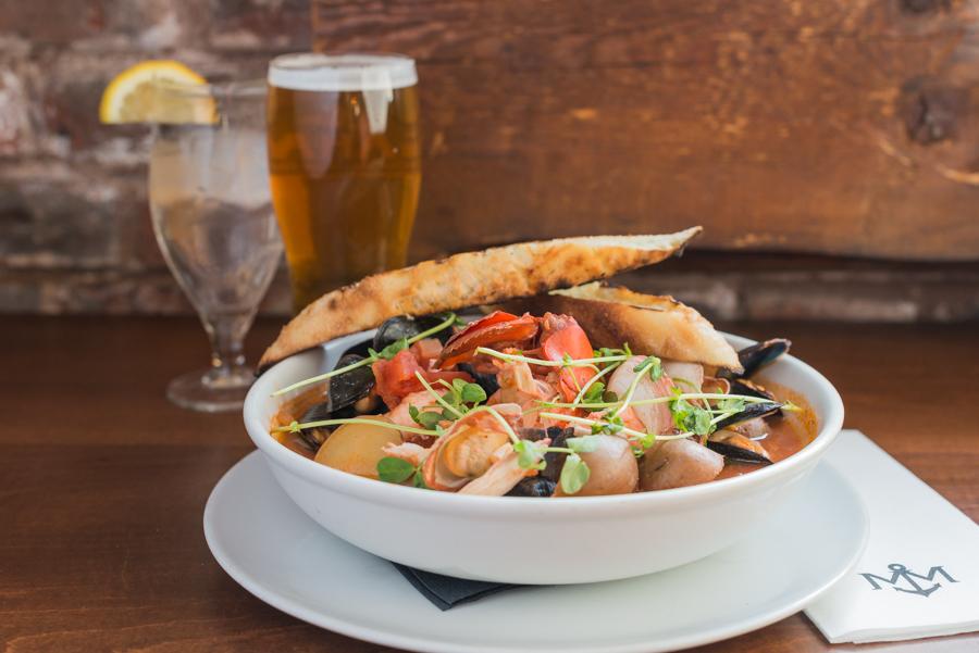 Island Seafood Stew, Merchantman Pub